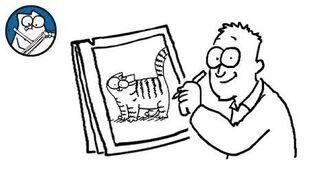 Simon Draws- Tabby Cats - Simon's Cat - CREATIVE