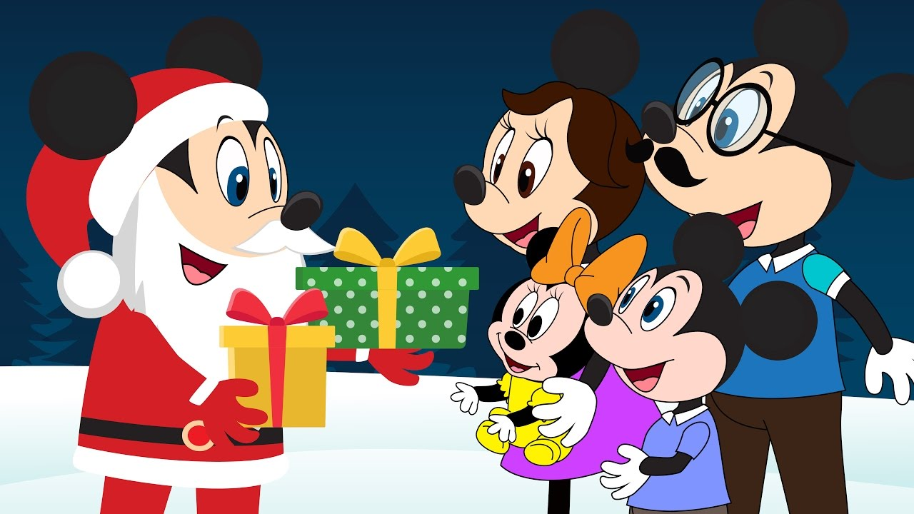 Image - Mickey Mouse vs Surprise Christmas Gifts from Santa! Minnie ...