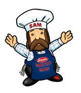 Sam, The Dancing Matzo Man
