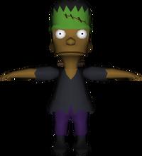 Simpsons HnR - Frankenstein Boy