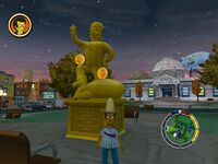 Simpsons hit and run Level 5