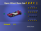 Open Wheel Race Car - Phone Booth