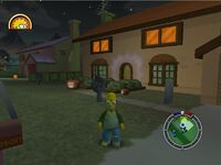 Simpsons hit and run Level 7