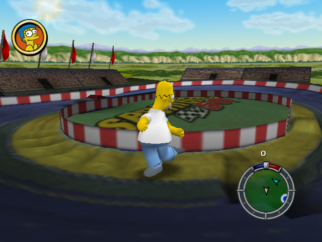 simpsons hit and run how to turn off cheats