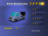 Book Burning Van - Phone Booth