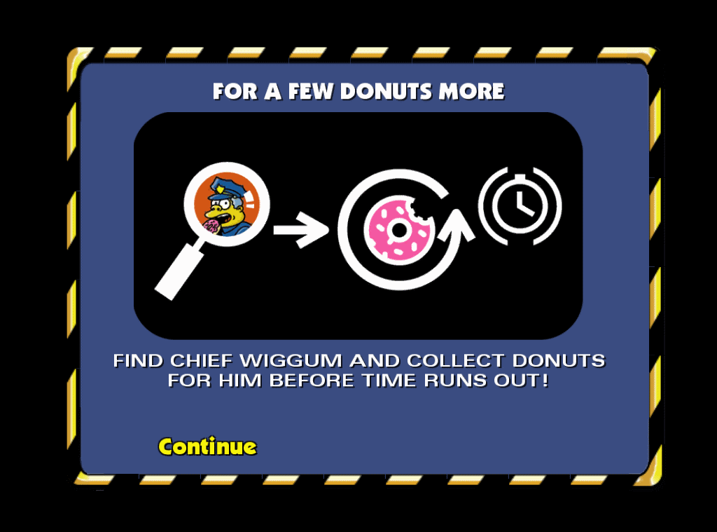 For A Few Donuts More | The Simpsons: Hit & Run | Fandom