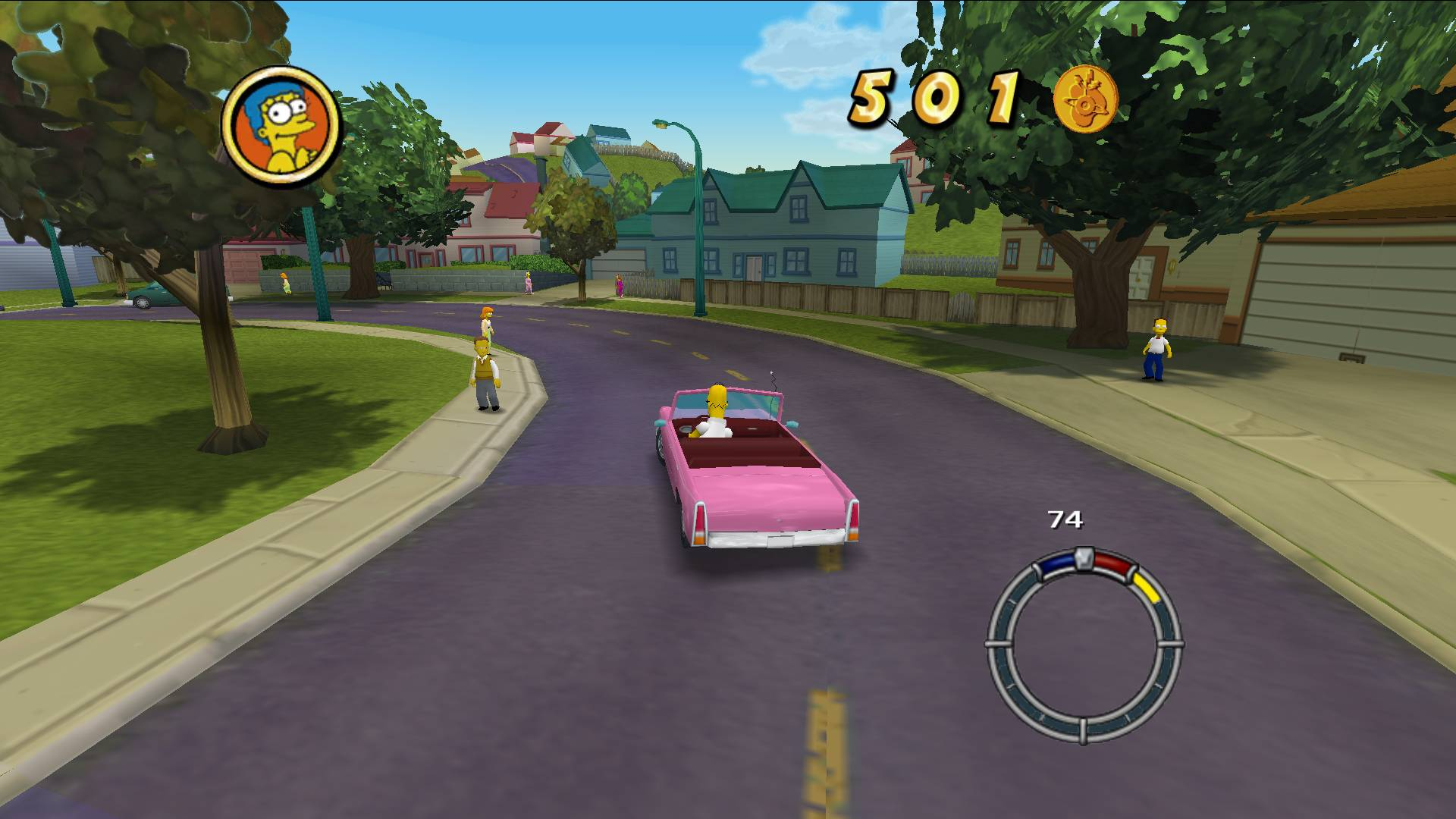 Image result for The Simpsons Hit & Run.