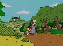 Milhouse nona sofia toscana