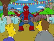 Nelson aniversário homem aranha