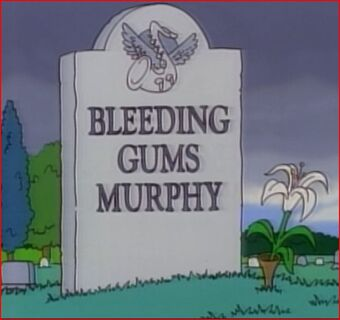 Bleeding Gums Murphy | Simpsons Wiki | Fandom