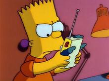 Bart bravo walkie talkie krusty