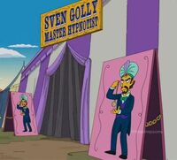 Sven Golly- circus tent