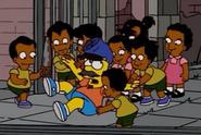Octuplets attack Bart