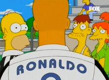 Ronaldo surge 18x17 homer spucklers