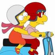Lisa e milhouse