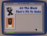 MrX Webpage