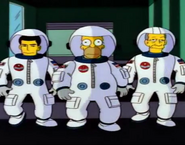 Buzz-homer-race space