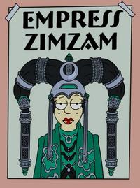 Empress Zimzam poster