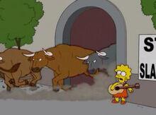 Lisa fuga touros