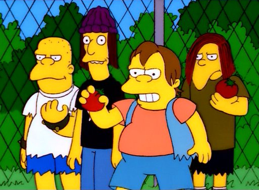 image nelson and the bullies png simpsons wiki fandom powered