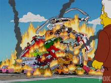Springfield pior acidente trânsito