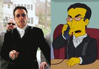 Benedict jako postać w Simpsonach