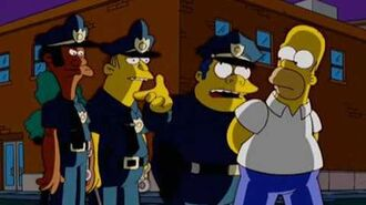 Homer goes to prison