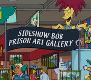 Sideshow Bob's Prison Art Gallery