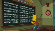 Treehouse of Horror 24 Chalkboard Gag