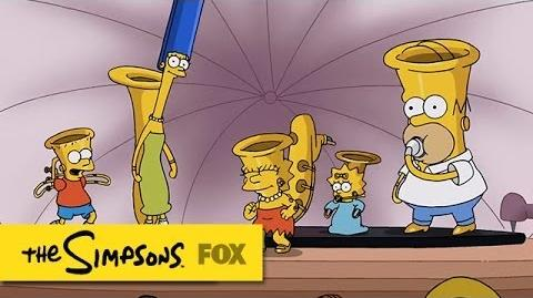 """MusicVille"" Couch Gag THE SIMPSONS ANIMATION on FOX"