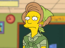 Edna Krabappel The Simpsons by franck 6