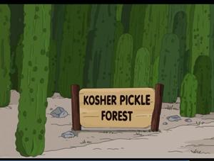 Floresta de Picles Kosher