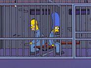 Homer Marge prison