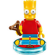 Lego Dimensions Bart Simpson Figure