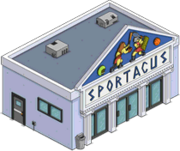 Sportacus tapped out