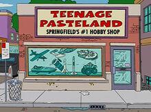Teenage pasteland 14x16