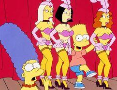 Bart chez les dames