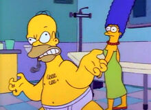 Homer crise de raiva