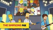 "THE SIMPSONS The Future Of Music from ""Friend with Benefit"" ANIMATION on FOX"