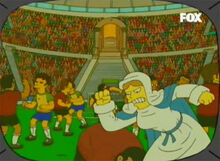 Virgem maria briga futebol