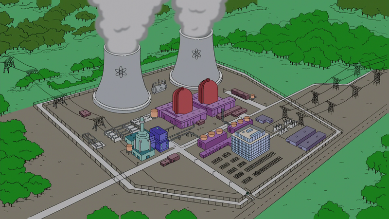 Springfield Nuclear Power Plant Simpsons Wiki Fandom Powered By