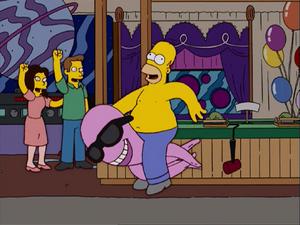 HomerAndNed'sHailMaryPass-HomerShowingOff6
