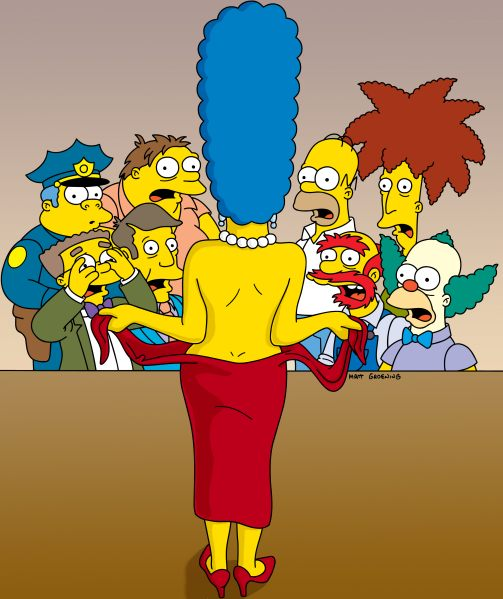 how old is marge simpson