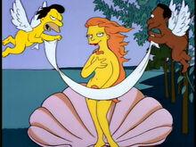 Lenny carl querubins pintura