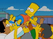 Bart herói 18x12