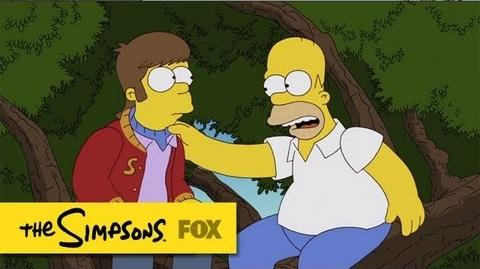 Bart & Homer's Excellent Adventure The Simpsons Animation on FOX