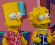 Bart and Lisa Puppets