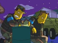 Coronel exército bebado assistente