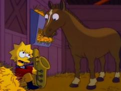Le Poney de Lisa