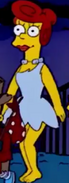 Marge as Wilma Flintstone